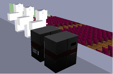 D2 auditorium/screen design services