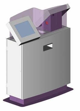 D2 automatic ticketing kiosk